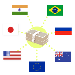 外貨預金(銀行)、外貨預り金(証券会社)の預入及び払出に係る為替差損益の取扱い